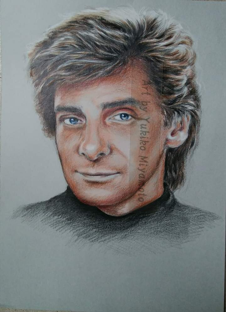 Barry Manilow by Yuki